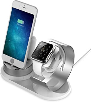 Sincetop 3-in-1 Aluminum iWatch Charging Stand Docking Station