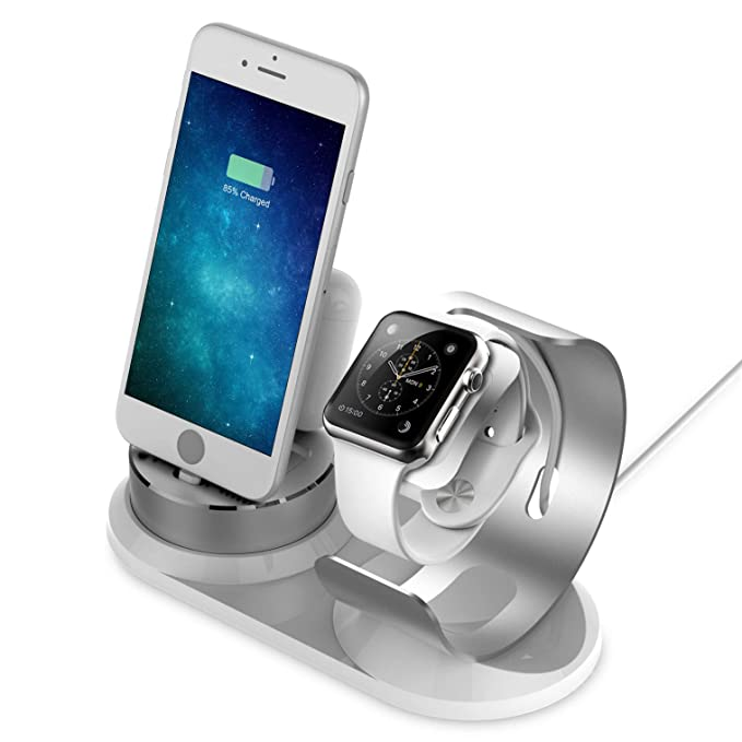 apple watch and iphone charging stand amazon