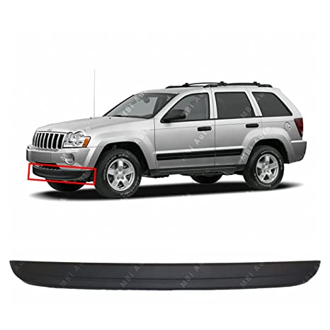 MBI AUTO   Textured, Black Front Bumper Lower Air Deflector 2005 2006 2007  Jeep Grand