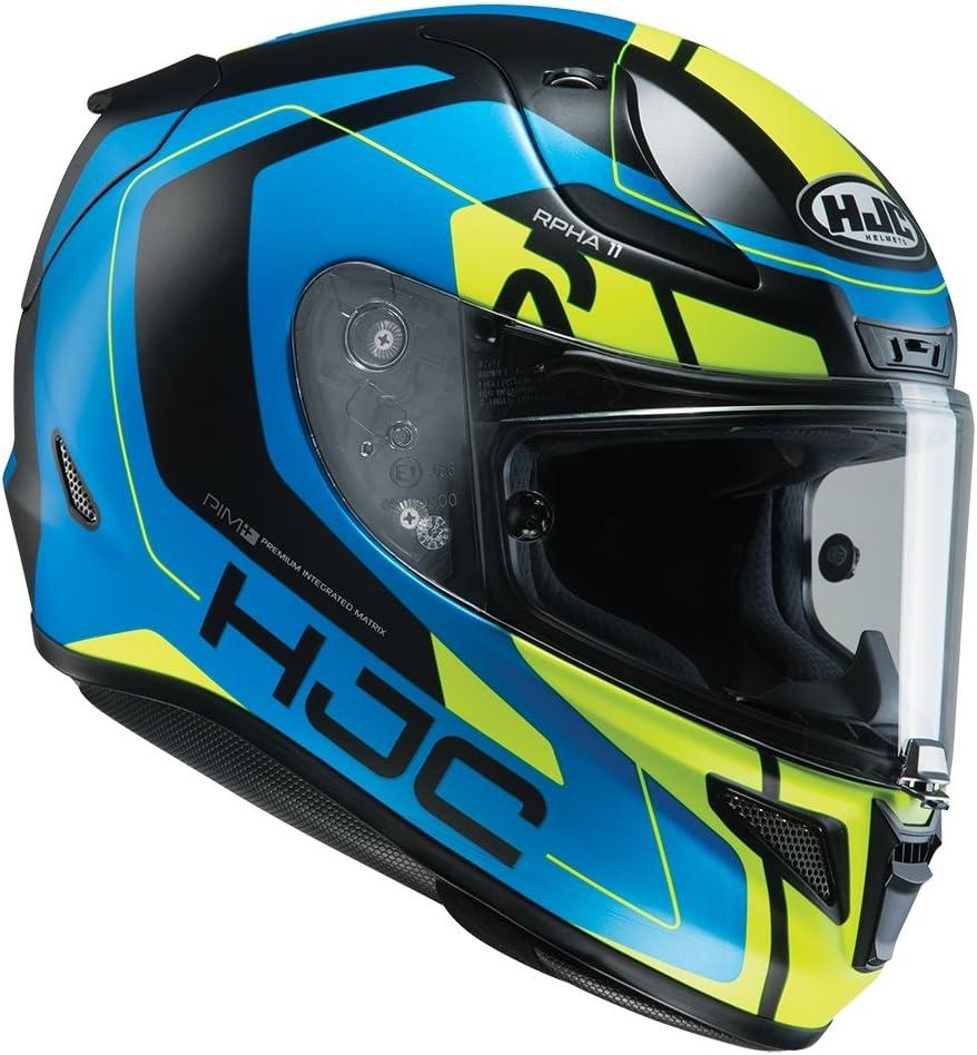 Size S HJC RPHA 11 DEROKA MC1SF Motorcycle Helmet Black//Red