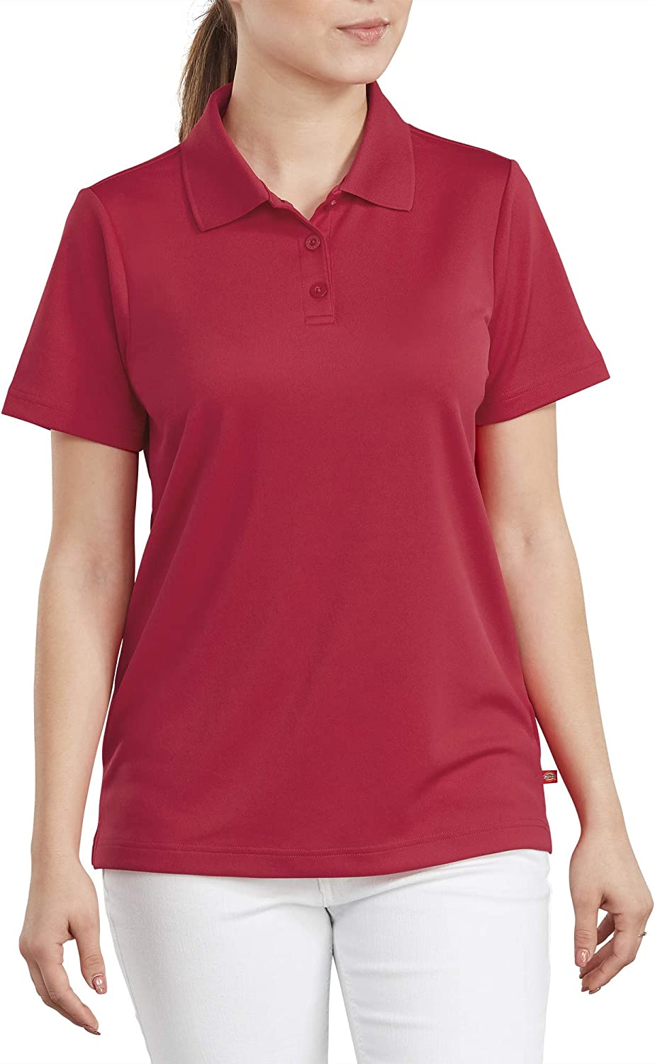 Dickies Women's Performance Polo with Silvadur Antimicrobial Protection