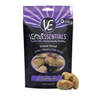 Vital Essentials Premium USA Made Grain Free Freeze-Dried Turkey Fries Dog Treats - Great for Travel - Training - Treating - 1.5 oz Resealable Bag