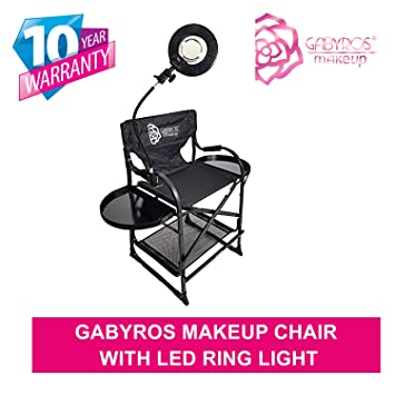 Amazon.com: Silla de maquillaje GabyRos de TuscanyPro, silla ...
