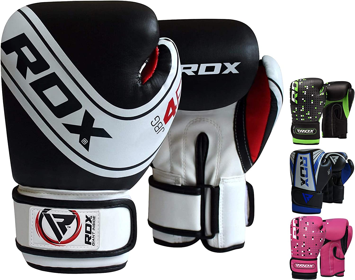 REX Boxing Gloves Sparring Punch Bag Glove Fighting Punches Training Mitts