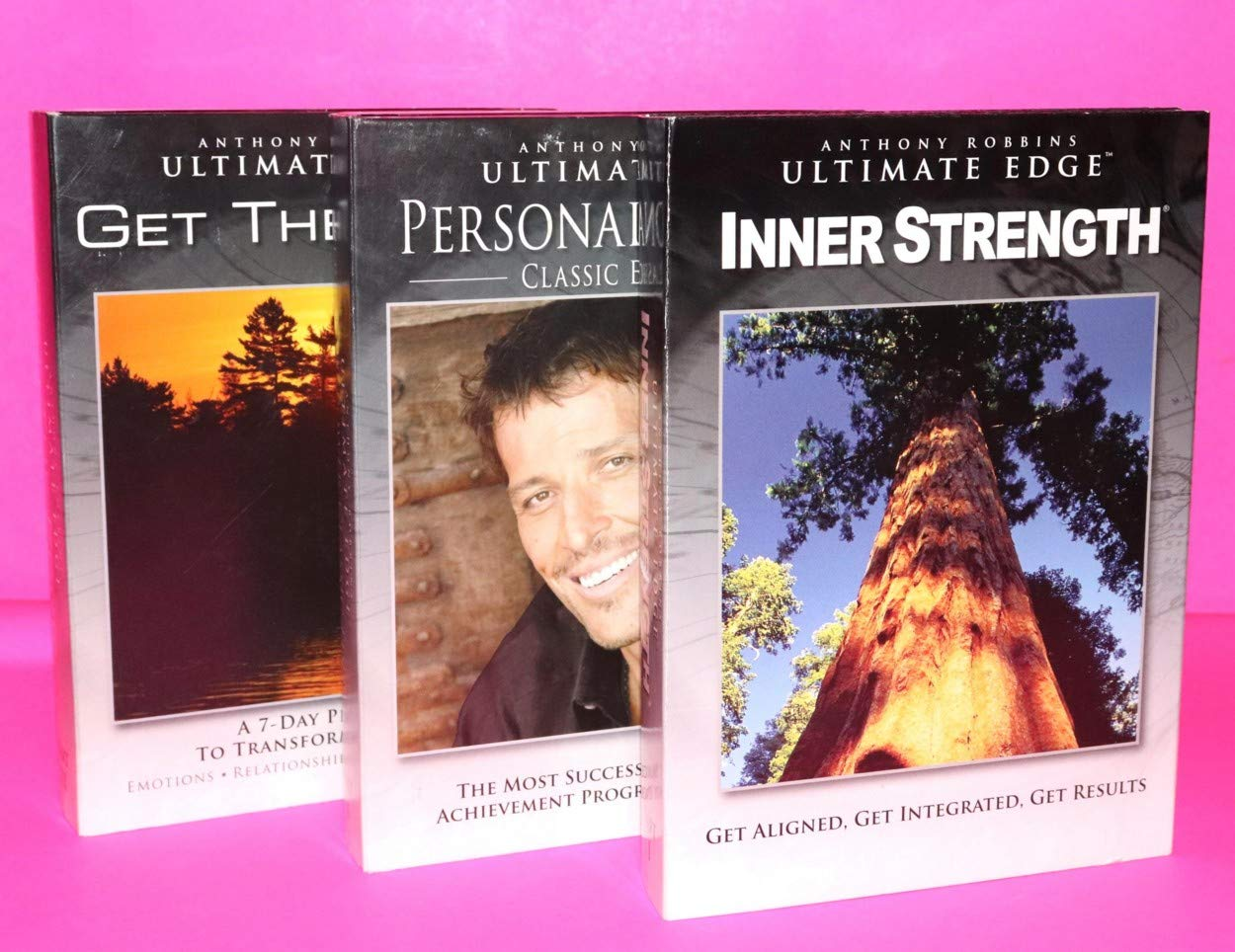 Anthony Robbins Ultimate Edge: A 3-Part System for Creating an  Extraordinary Life in Any Environment Box set