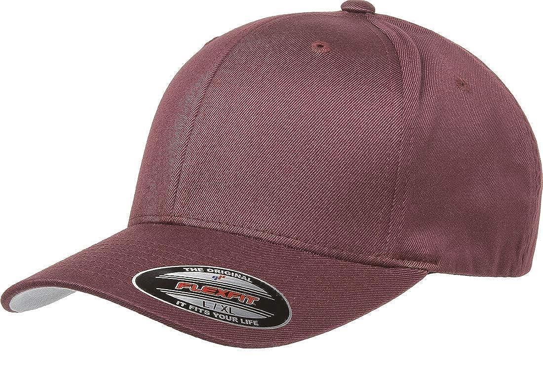 Flexfit - Gorra de béisbol para Hombre - Rojo - Small/Medium ...