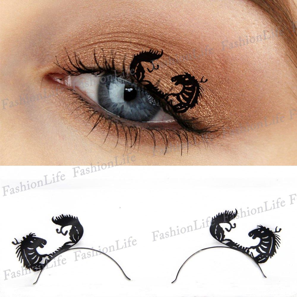b75f7e0b9a5 Party Eyes Temporary Lace Tattoo Lace False Eyelashes Halloween Make-Up  Stickers Halloween - ETP274 Sticker Tattoo - FashionLife: Amazon.co.uk:  Beauty