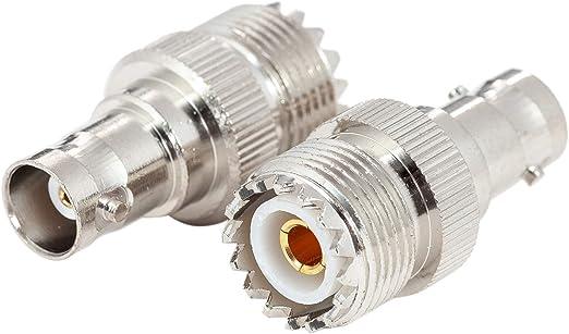 Ancable So239 - Pack de 2 Adaptadores UHF A Bnc para Antena ...