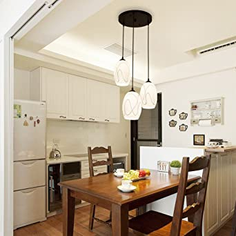 Bai lustre de restaurante simple mango redonda tres Idyllique IKEA ...