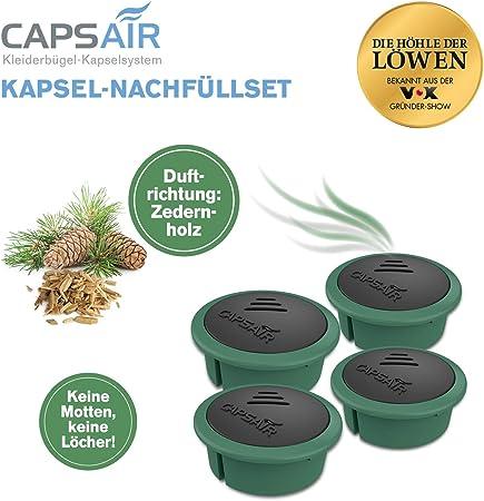 Capsair Ersatz Kapsel 4x Zedernholz Caps Air Mottenschutz Caps Perfume Systems Amazon Co Uk Kitchen Home
