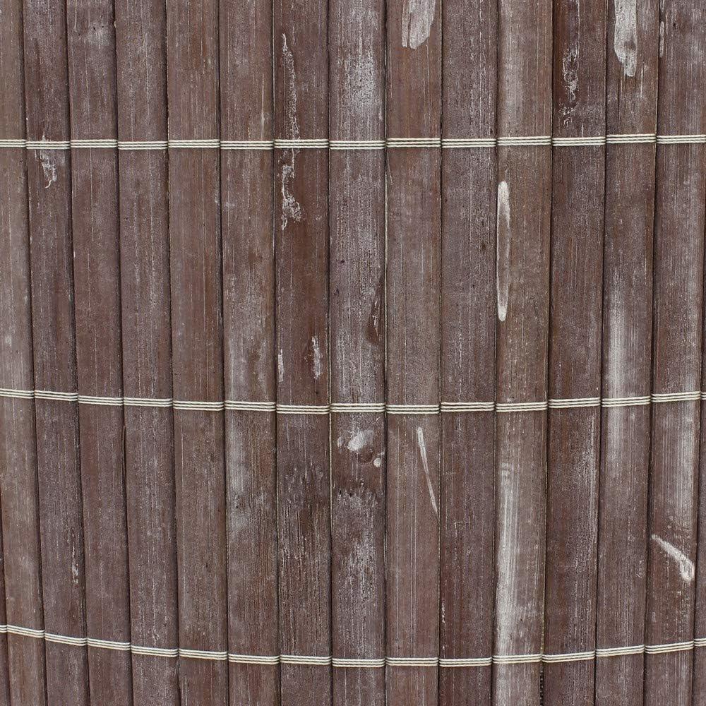 Plegable Gris 35 x 35 x 50 cm marr/ón JVL Cesto Redondo de bamb/ú para Ropa bamb/ú 35/x 50/cm