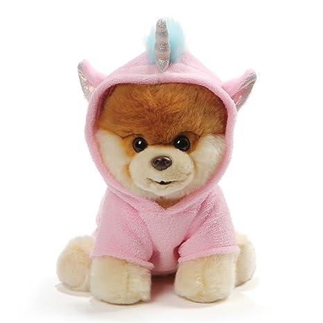Amazon Com Gund World S Cutest Dog Boo Unicorn Outfit Stuffed