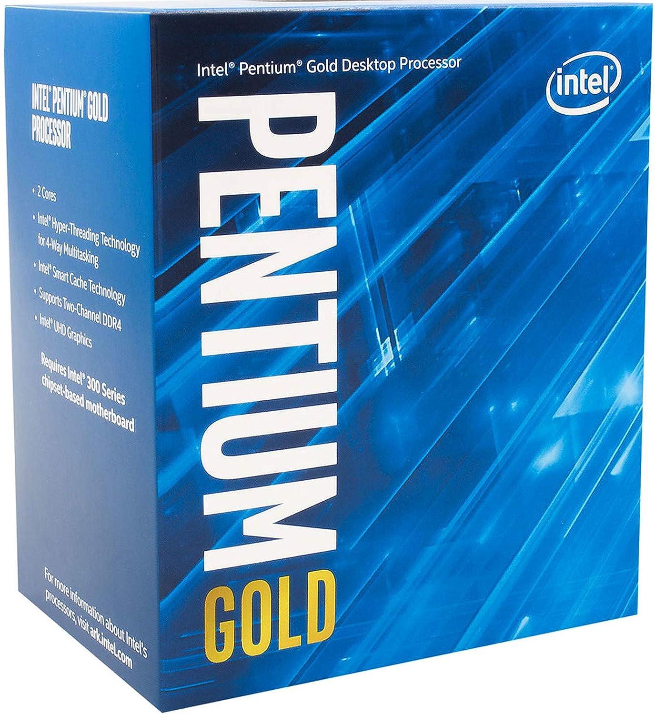 Intel BX80684G5500 Processore per Desktop PC, Argento