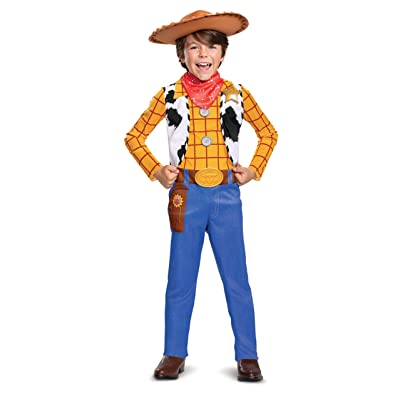 Woody Classic Toy Story 4 Child Costume, S (4-6): Toys & Games