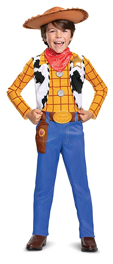 Toy Story 4 Halloween Costumes.Amazon Com Woody Classic Toy Story 4 Child Costume Toys Games