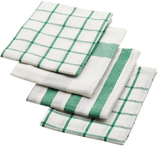 4] pieza IKEA ELLY 20277766 cocina cruz blanca verde 50x65 cm ...