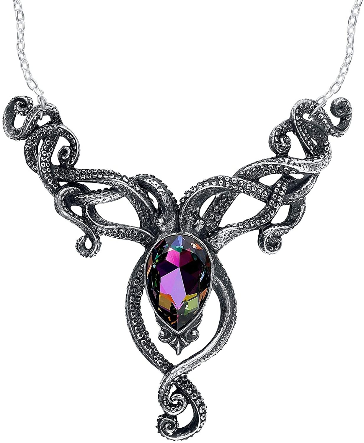 Alchemy of England Holiday Occasion Fashion Jewelry Kraken Necklace