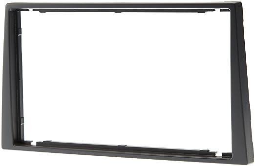 2 opinioni per Aerzetix C4581- Mascherina per autoradio 2 DIN, per auto, colore: grigio scuro