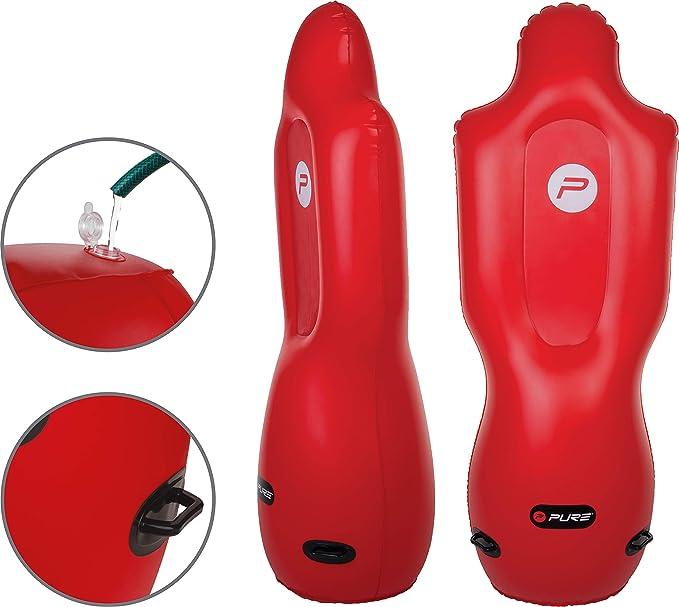 pure2i mprove Original Hinchable verteidiger, Rojo, 1: Amazon.es ...