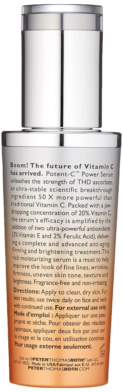 d4d246d1b6a Amazon.com: Peter Thomas Roth Potent C Power Serum 1 fl. oz.: Beauty