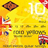 Rotosound R10DD Roto Yellows Nickel R - Double Decker Twin Pack