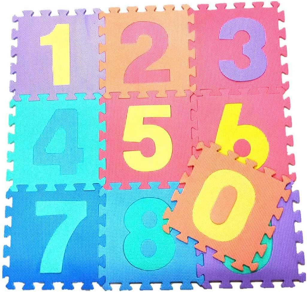 GoodKE Foam Puzzle Floor Mat Baby Safety Crawling Mat Childrens Educational Toys Baby Gyms /& Playmats