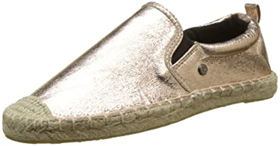 Superdry LIORA ESPADRILLE - Espadrilles - rose gold crackle