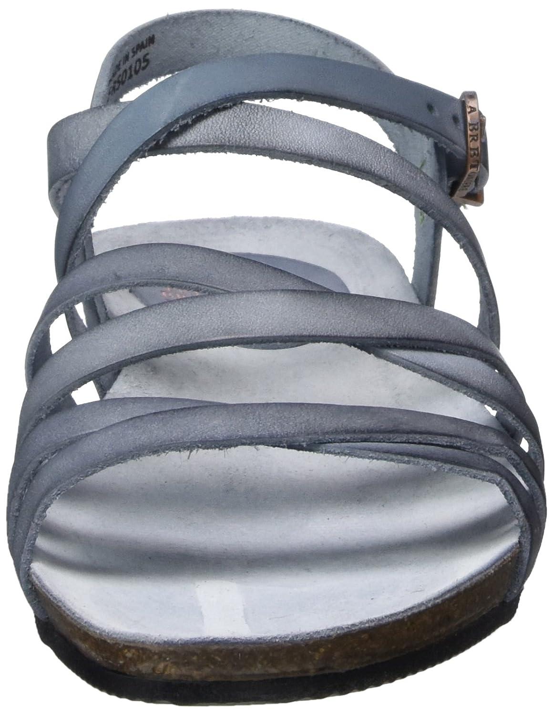 FROT de de FROT la Bretoniere Damen Riemchen Sandale RömerSandale Blau (Jeans Blau) 2b57bd
