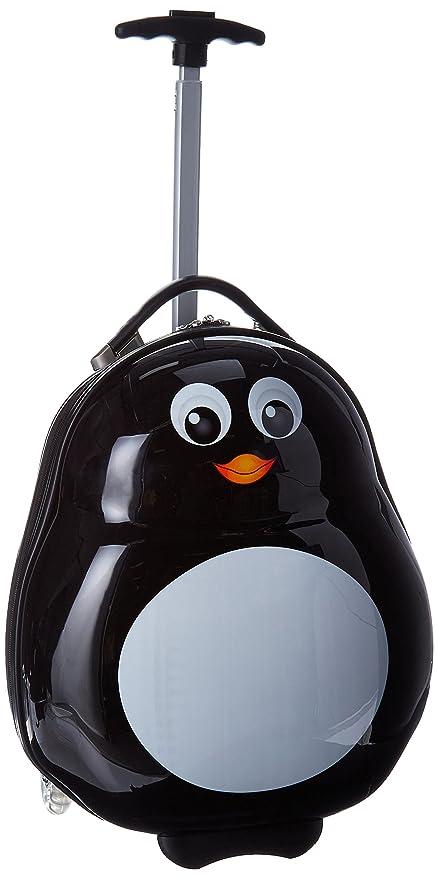 Heys - Equipaje Infantil pingüino Talla única: Amazon.es ...