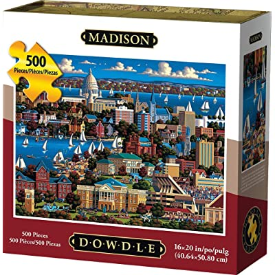 Dowdle Jigsaw Puzzle - Madison - 500 Piece: Toys & Games