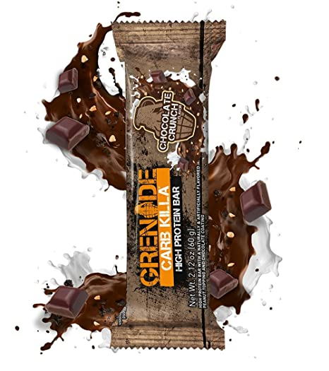 Grenade Carb Killa Chocolate Crunch - 12 Barras: Amazon.es: Salud y cuidado personal