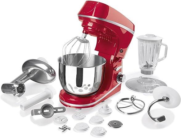 Gourmet Maxx 09953 Robot de cocina, 1000 W, color rojo: Amazon.es: Hogar