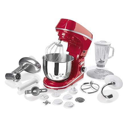 Amazon De Gourmetmaxx 09953 Kuchenmaschine 1000 W Rot