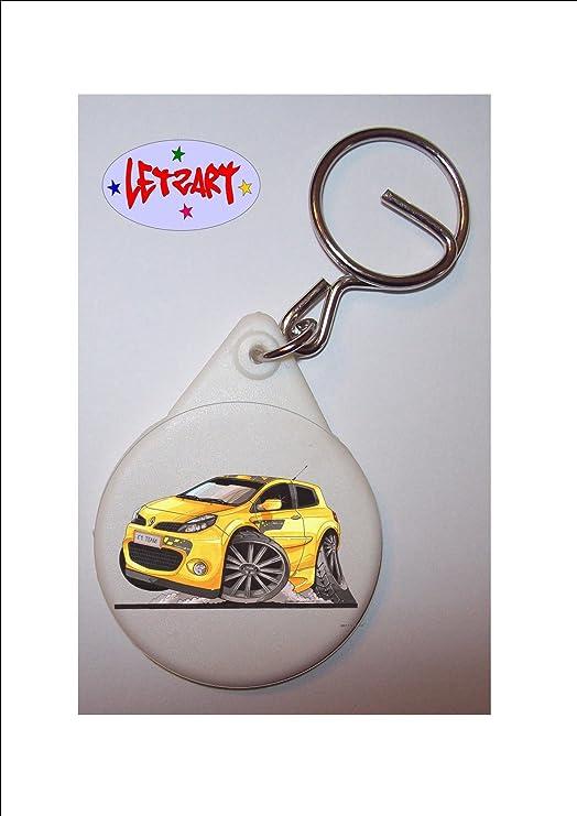 Llavero Renault Clio KOOLART diseño de F1 Team #2317: Amazon ...