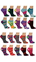 """Limited Time Offer! Women's Low-cut Socks """"20 Pair"""" (10 Pack + 10 """"Free"""" Pair)"""