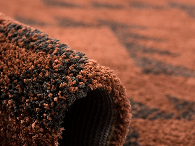 Luxus Luxus Luxus Langflor Shaggy Teppich I Fransen   Wohnzimmerteppich Esszimmerteppich Bettumrandung Vorleger Teppichläufer Flur-Läufer Bettvorleger I Hochwertige, Farbe Rosa, Größe 135x190 B07FB47QRT Teppichunterleger 3f14b8