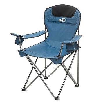 Qeedo Johnny Chaise Pliante De Camping XL Capacite 150 Kg