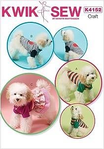 KWIK-SEW PATTERNS K4152 Dog Clothes