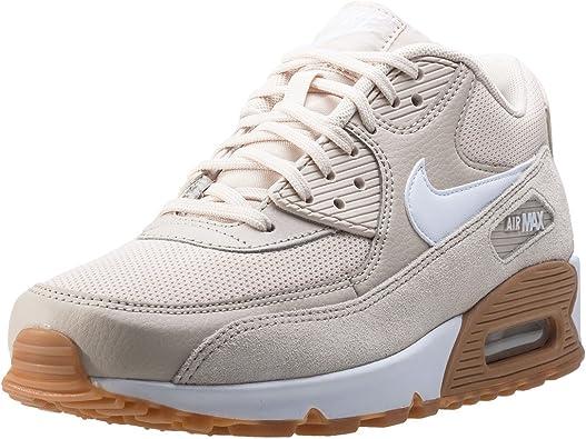 club Instalar en pc Aventurero  Amazon.com: Nike Air Max 90 – Zapatillas para mujer, Beige: Shoes