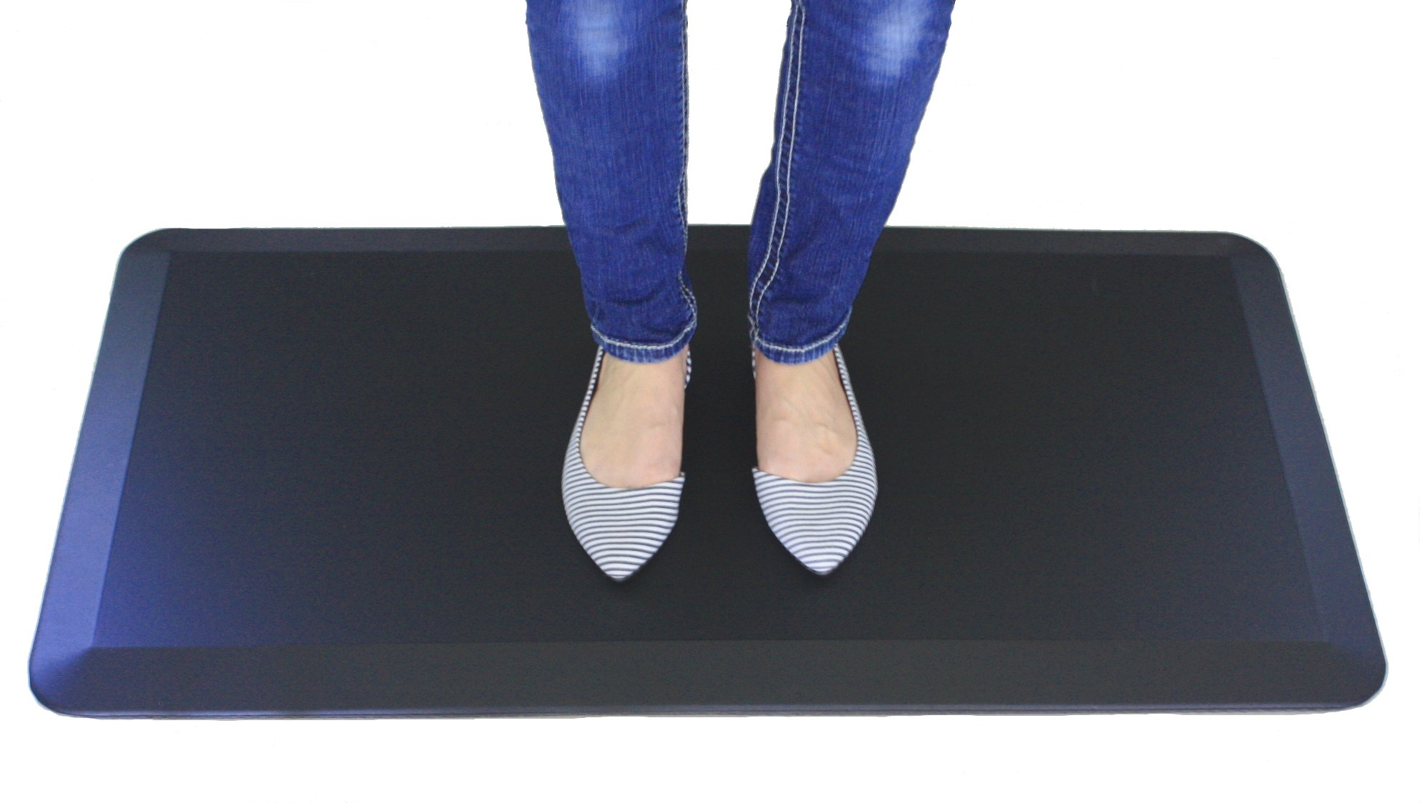 Stand Up Mat for Standing Desk, Comfortably Stand for Hours While Significantly Reducing Upright Stress on Your Back, Hips, Knees and Ankles. It is a Comfort Mat and an Anti Fatigue Mat