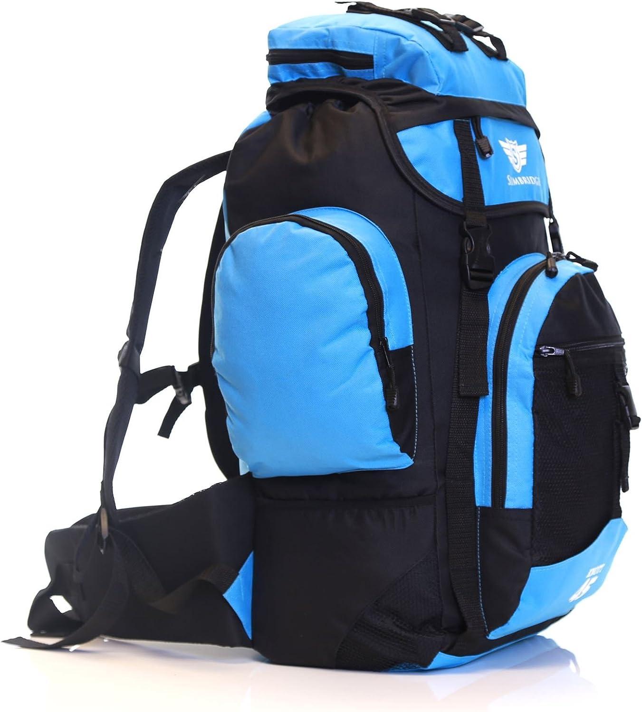 Slimbridge Sac /à Dos de Randonn/ée 55 cm 45 litres 1 kg Knott Bleu