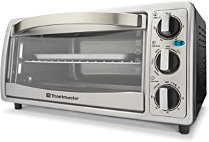 6 Slice Toaster Oven Silver
