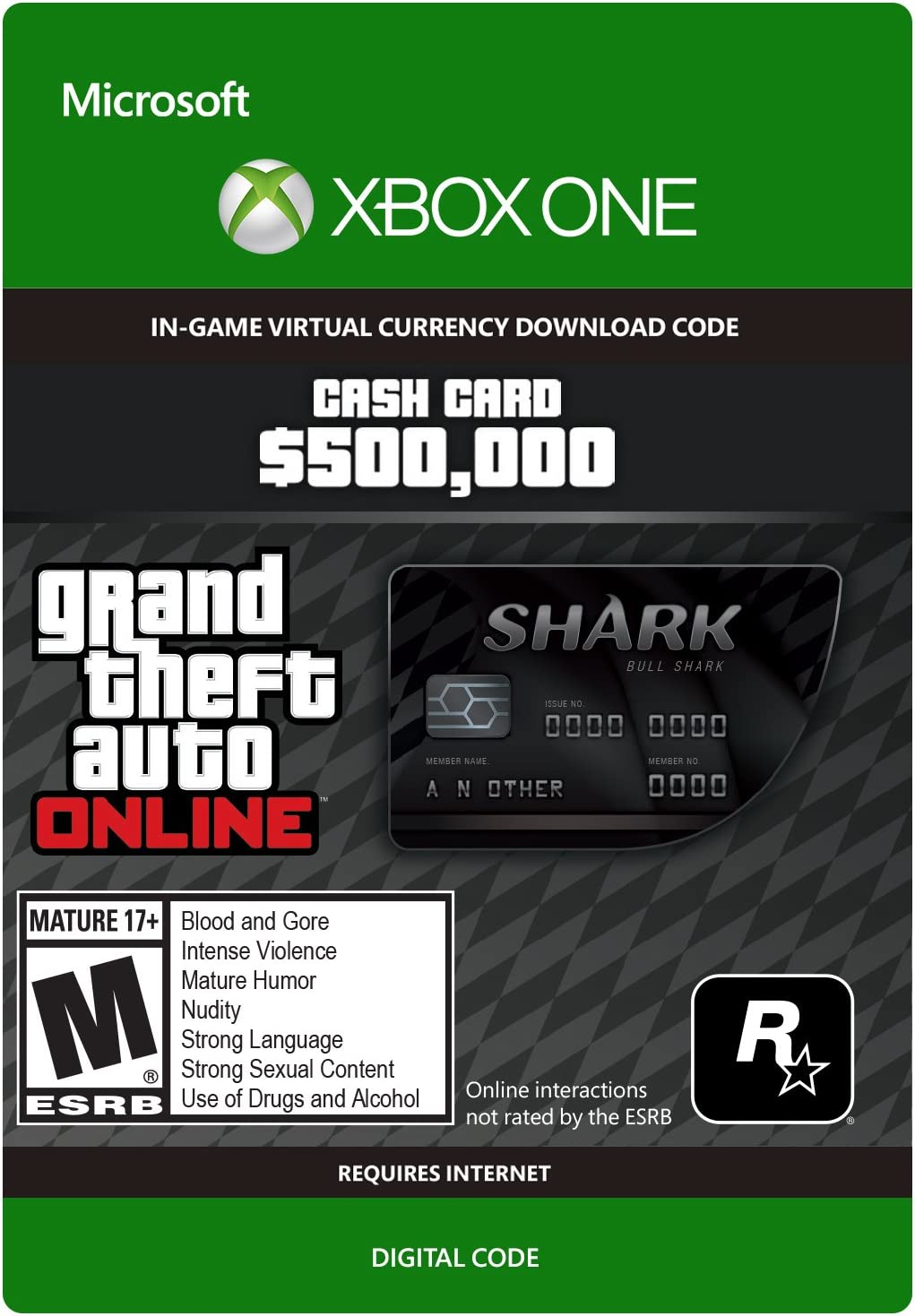 gta v xbox one shark cards