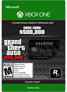 Amazon com: Grand Theft Auto V: Whale Shark Card Bundle