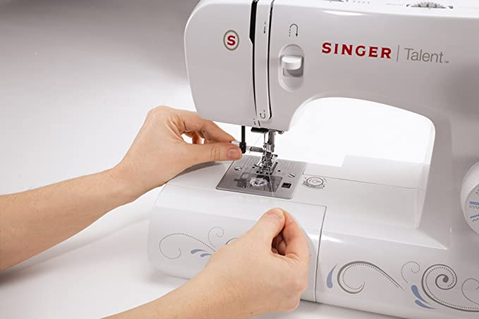 SINGER Talent 3323 - Máquina de coser (220-240 V, Color blanco): Amazon.es: Hogar