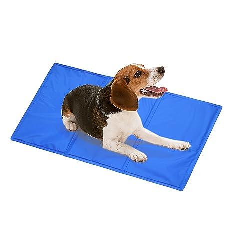 DAOXU - Colchón de Gel de refrigeración para Mascotas, Perro, Gato, Alivio del Calor, no tóxico (50 x 90 cm)