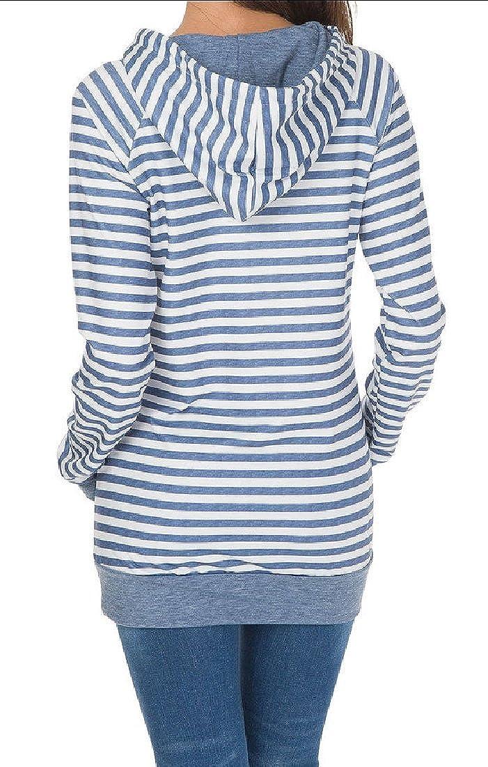 WSPLYSPJY Womens Long Sleeve Shirts Color Splicing Spring Top Sweatshirt