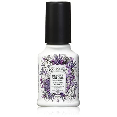 PooPourri Before You Go Spray, Lavender Vanilla, 2 Ounce (2 Count)