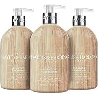 Baylis & Harding Elements Oud Hout & Bergamot, 500ml Handwas, Pack van 3