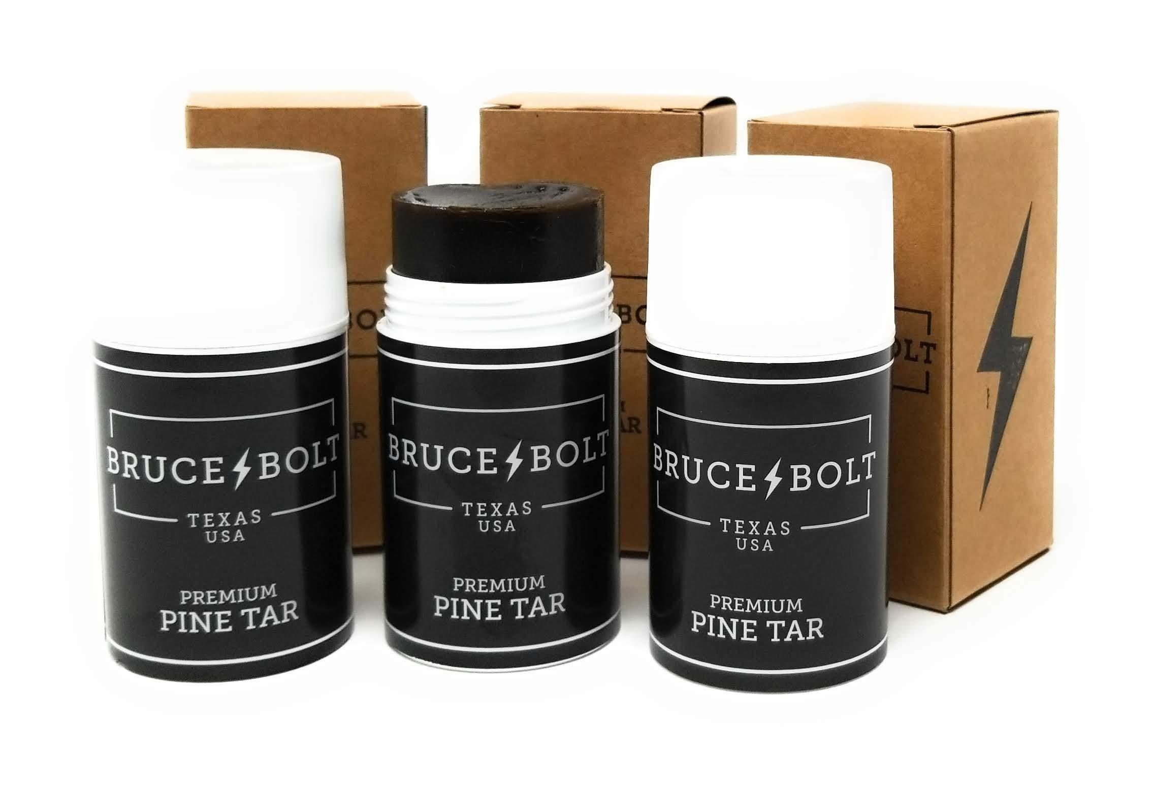 Hobbs Bruce+Bolt Premium Baseball Pine Tar Stick (Black 3-Pack) by BRUCE + BOLT